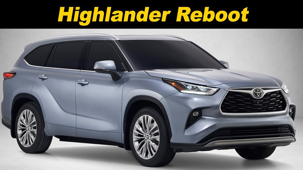 2020 Toyota Highlander First Look Youtube