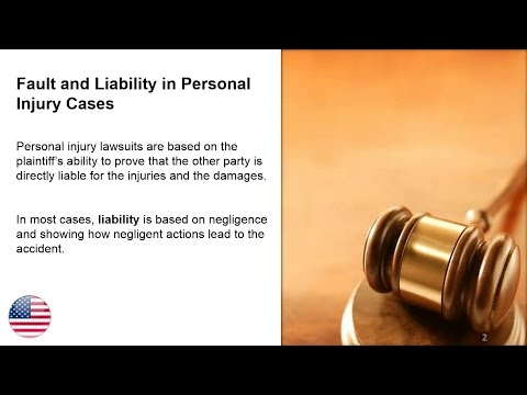 Fault and Liability in a Personal Injury Case