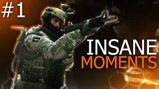CS:GO - Epic Moments #1