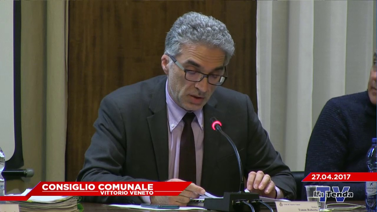 CONSIGLIO COMUNALE VITTORIO VENETO - Seduta del 27.04.2017