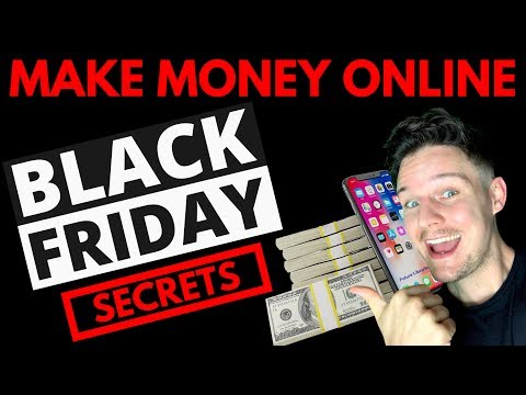 🤑How To Make Money Online This Black Friday