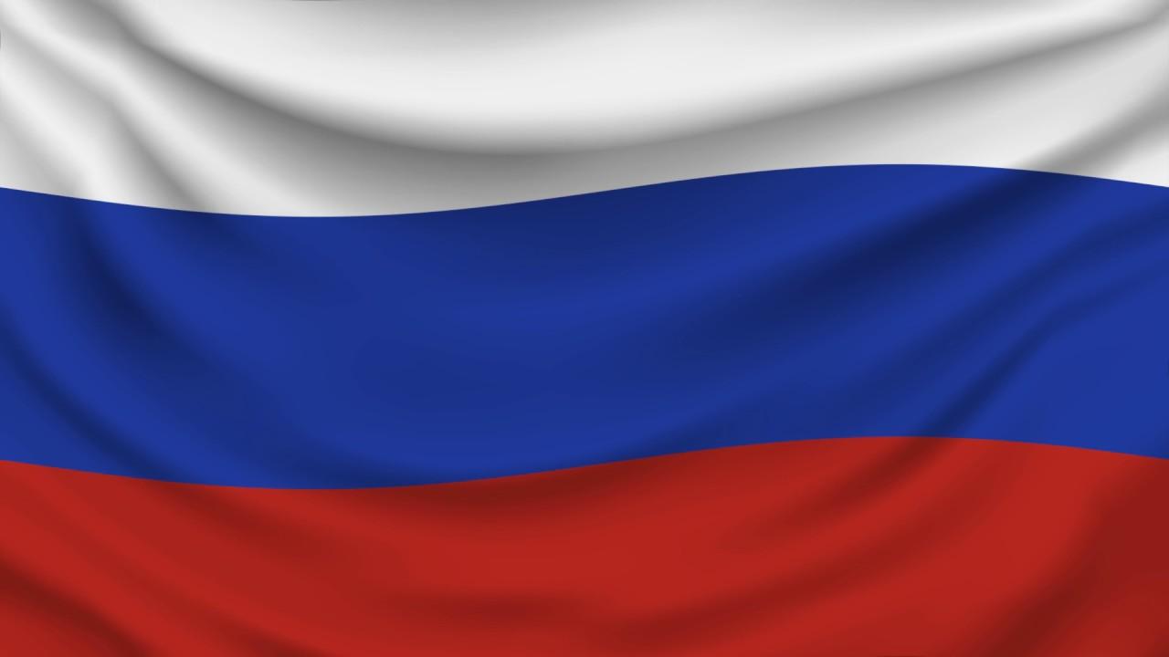Waving Russia Flag 1080P - YouTube