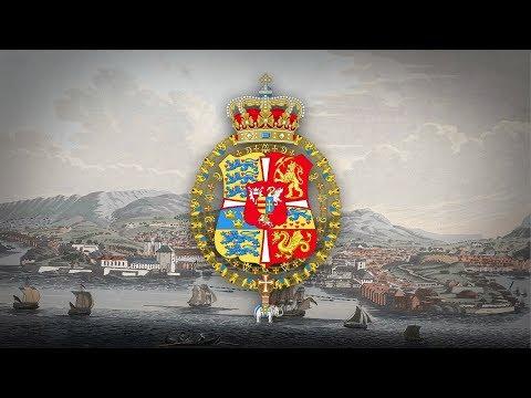 "Kingdom of Denmark-Norway (1537–1814) Unofficial anthem ""Kong Christian stod ved højen mast"" (1780)"