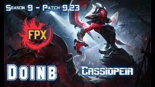 FPX Doinb CASSIOPEIA vs YASUO Mid - Patch 9.23 KR Ranked