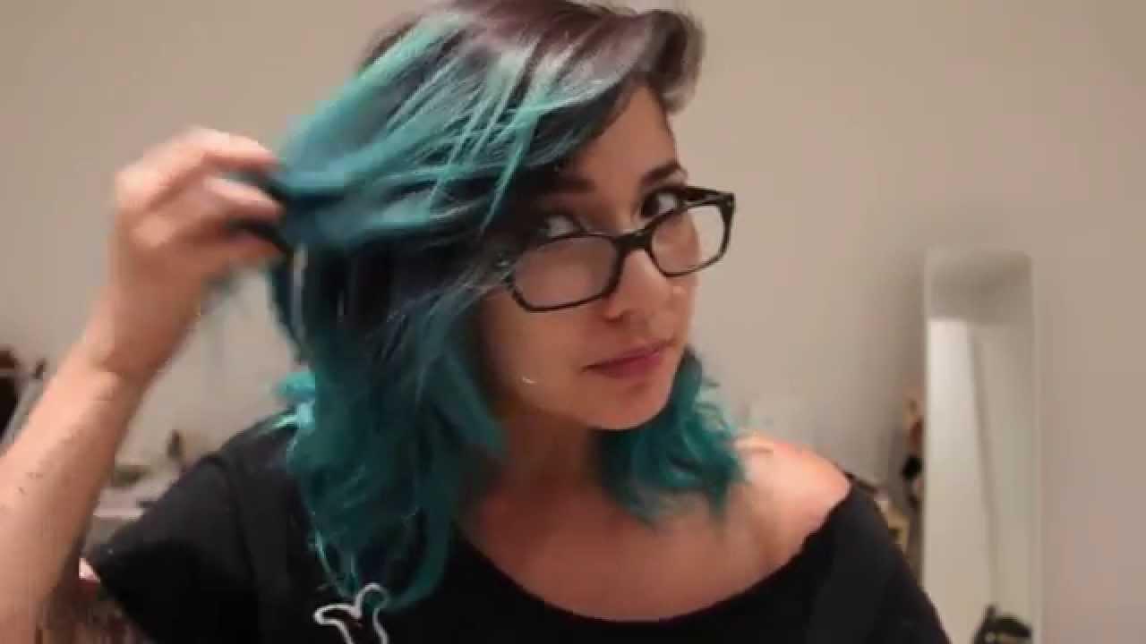 atomic turquoise hair manic panic