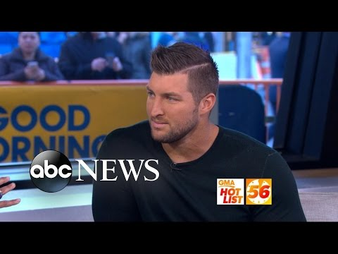 'GMA' Hot List: Tim Tebow Opens Up About Life After Football