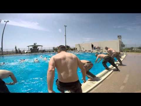 USMC Advanced Water Survival Training