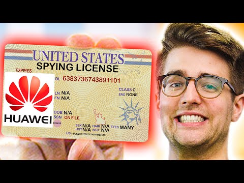 Huawei's ALLOWED to spy now!