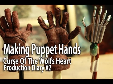 Stop Motion Animation - Making Puppet Hands