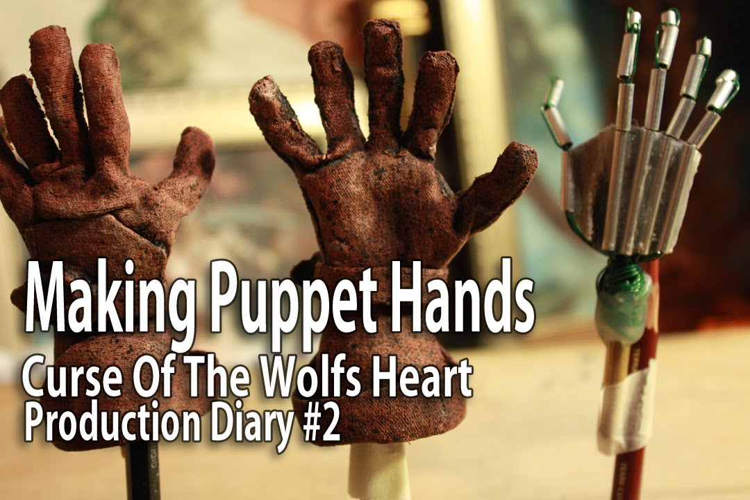 Stop Motion Animation Making Puppet Hands Youtube