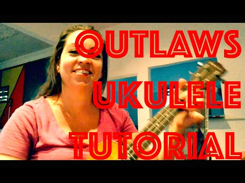 How to Play OUTLAWS Ukulele Lesson Alessia Cara - Chords Strum Tutorial