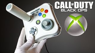 WHEN JOYSTICK & CONTROLLER HAD A BABY... Unboxing Xbox 360 Arcade Gamestick Call of Duty Black Ops