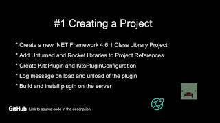 Unturned Rocket Plugin Tut๐rial #1 - Creating Project