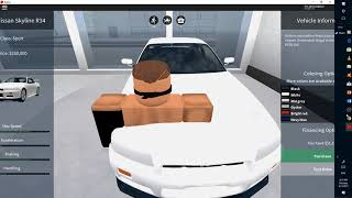 Playing Vehicle Simulator (With my voice) (ROBLOX)