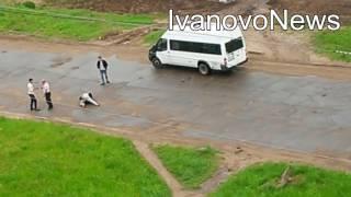 Драка водителей маршруток в Иванове 2