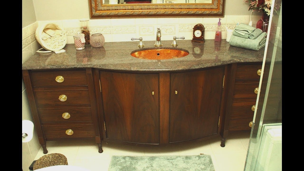 Curved Bathroom Cabinet - Bathroom Design Ideas