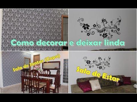 Como decorar sala cozinha e quarto conjugados | Doovi