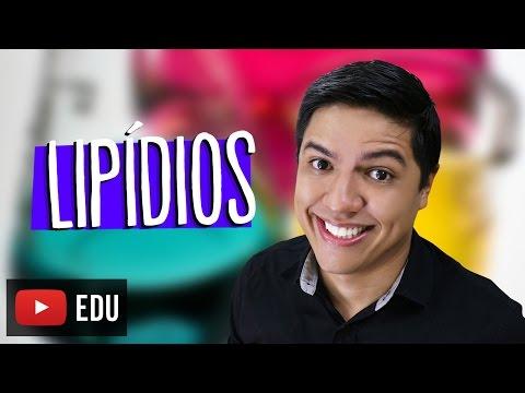 LIPÍDIOS - BIOQUÍMICA - COMPOSTOS ORGÂNICOS - Biologia com o Prof. Kennedy Ramos