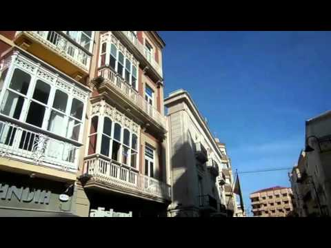 Cartagena Spain cruise port and walk around the city