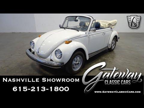 1979 Volkswagen Beetle, Gateway Classic Cars Nashville,#1093