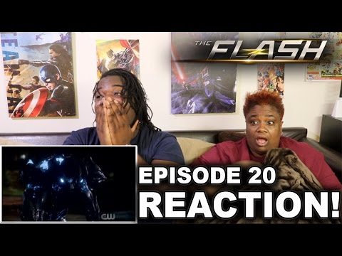 The Flash Season 3 Episode 20 : REACTION WITH MOM!