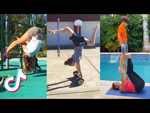 Most Watched Gymnastics TikTok 🦵 (compilation) #12