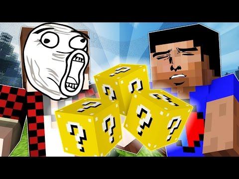 LUCKY BLOCK HUNGER GAMES #1