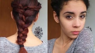 How To: Three Braids Hairstyle Tutorial (easy) Thumbnail