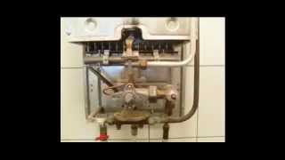 Газовая колонка включается с хлопком, бабахает.(Если при включении газовой колонки хлопок и бабахает, то пора срочно почистить ее запальник (фитиль). Долго..., 2015-04-07T19:50:41.000Z)