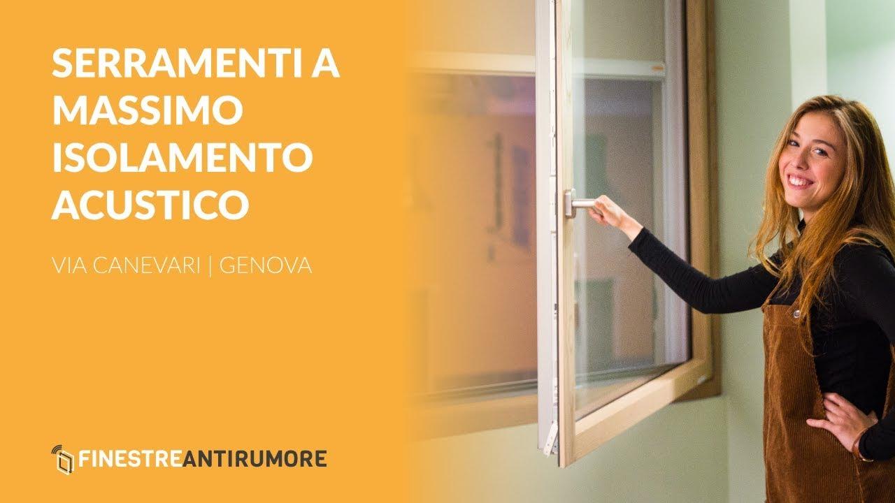 Isolare Acusticamente Una Finestra finestre antirumore® | i n.1 delle finestre insonorizzate in