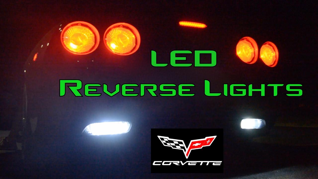 C6 Corvette Led Install Reverse Lights Only Youtube Headlight Wiring Harness