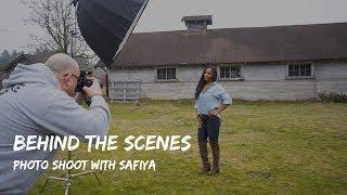 Behind The Scenes - Photo shoot with Safiya