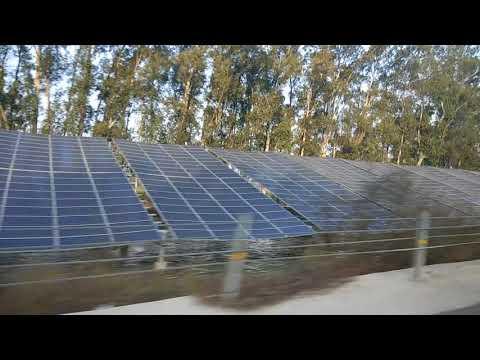 Solar Panel on the Sutlej River near ludhiana punjab