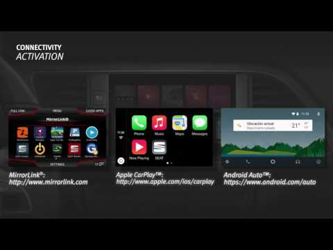Connectivity Tutorial: Connect your Smartphone with your car - SEAT LEON 2018