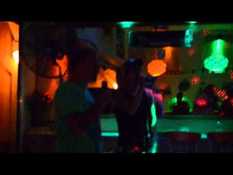 LoveBoat at Santorini 7-7-12 (Karaoke Party) Part 1