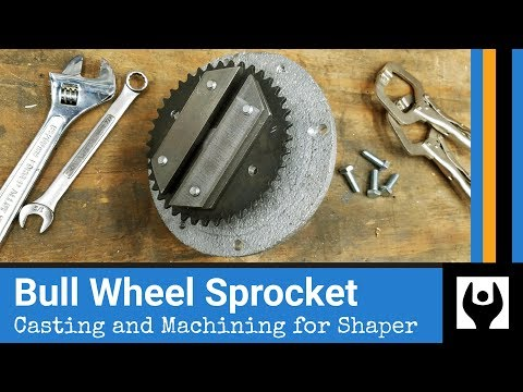 Bull Wheel Sprocket Chain Drive for Metal Shaper