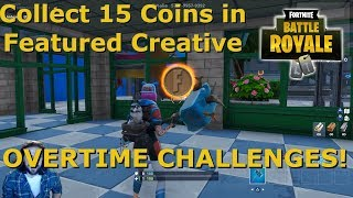 Coins In Fortnite Creative | Fortnite Overtime Challenges