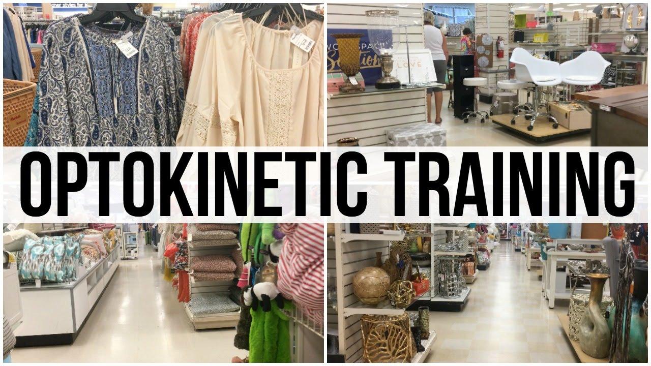 home decor shopping: optokinetic training (3:50) - youtube