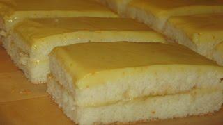 Как приготовить апельсиновые пирожные