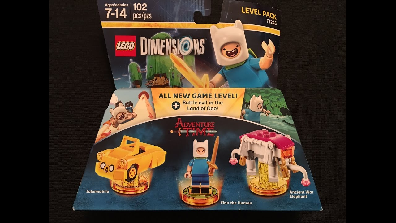 adventure time level pack lego dimensions unboxing and. Black Bedroom Furniture Sets. Home Design Ideas