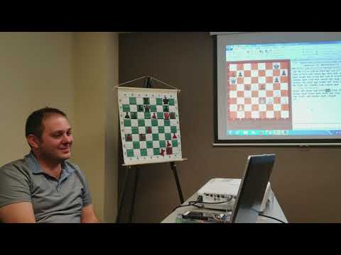 GM Vladimir Georgiev lecture on Chess Endgames at Twin Ports Open 6 (Superior, WI) part 2