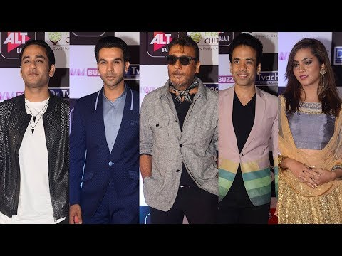 IWM Digital Awards 2018 FULL Red Carpet Show | Jackie Shroff, Rajkummar Rao, Tusshar Kapoor,Vikas