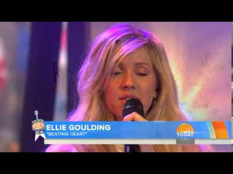 Ellie Goulding  Beating Heart  on TODAY Show