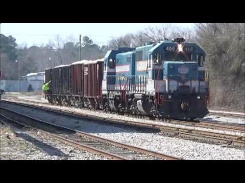 Aberdeen & Rockfish Railroad 400 & 2486 With Leslie Horns!!