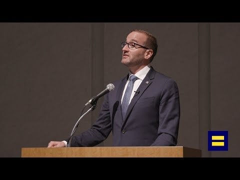 HRC President Chad Griffin Speaks at Work With Pride in Tokyo, Japan