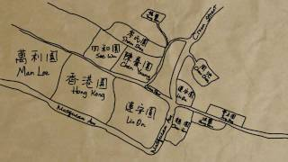 Map of Chinese Farms on Musqueam, c1950