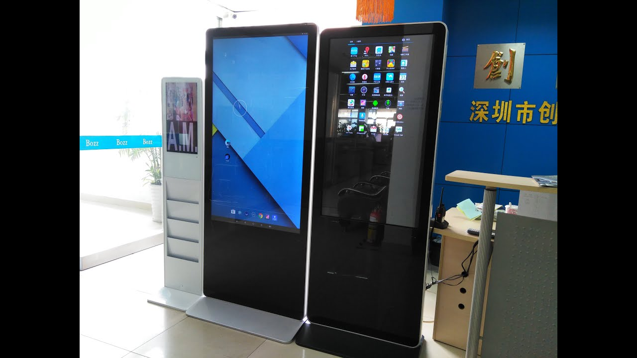 CTBozz 13-70'' Digital Signage with Touch Screen on RK3288