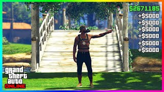 Its Finally Back $900,000 Per Minute Solo GTA 5 Money Glitch.. (unlimited money)