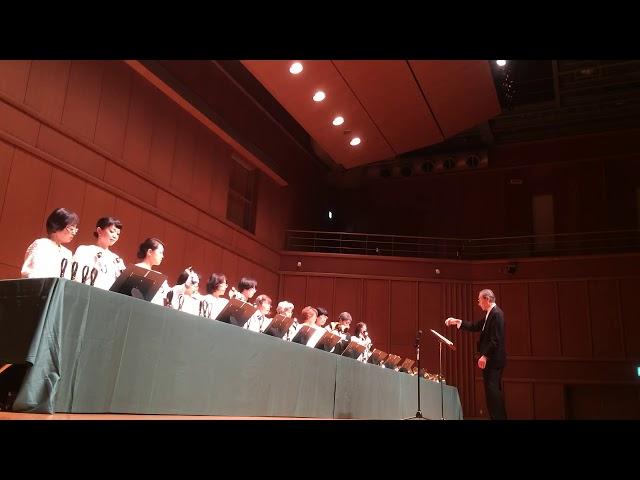 ハンドベル 荒城の月, Kobe YMCA Bell-choir (Dir. Nozomu Abe) 2017 Dec
