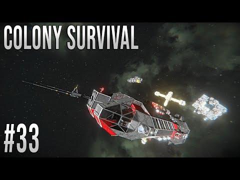 Space Engineers - Colony Survival Ep #33 - Mining fleet!!